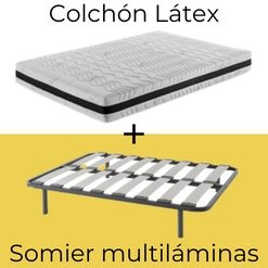Pack Látex con Somier